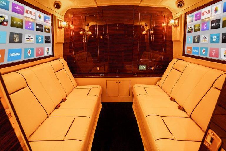 Как выглядит элитный офис на колесах за $1 миллион (видео)