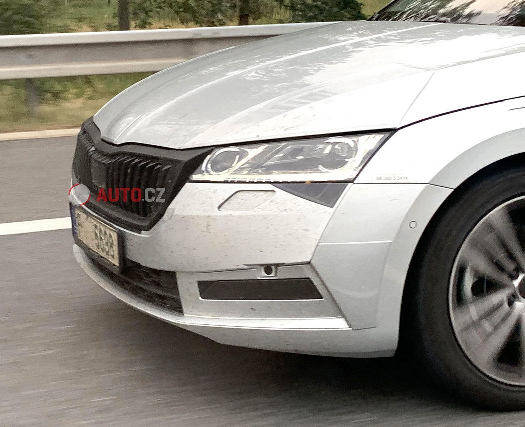 Новую Skoda Octavia 2020 засняли на дорогах