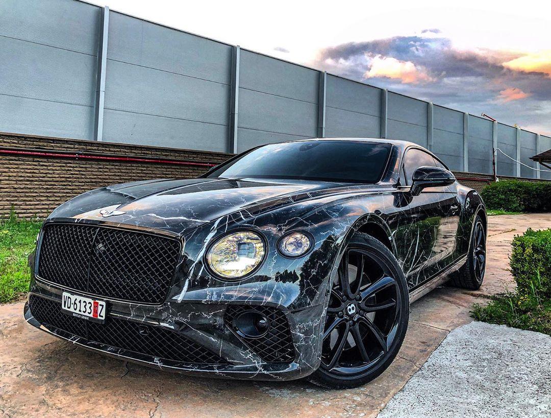 Как выглядит самый нестандартный Bentley Continental GT в Украине