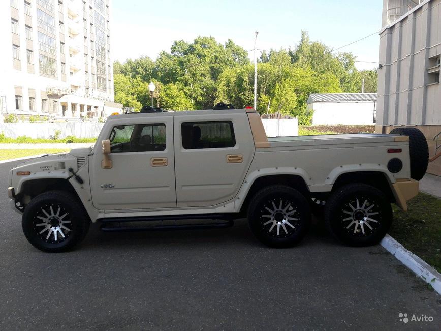 Уникальный шестиколесный Hummer продают по цене нового Прадо