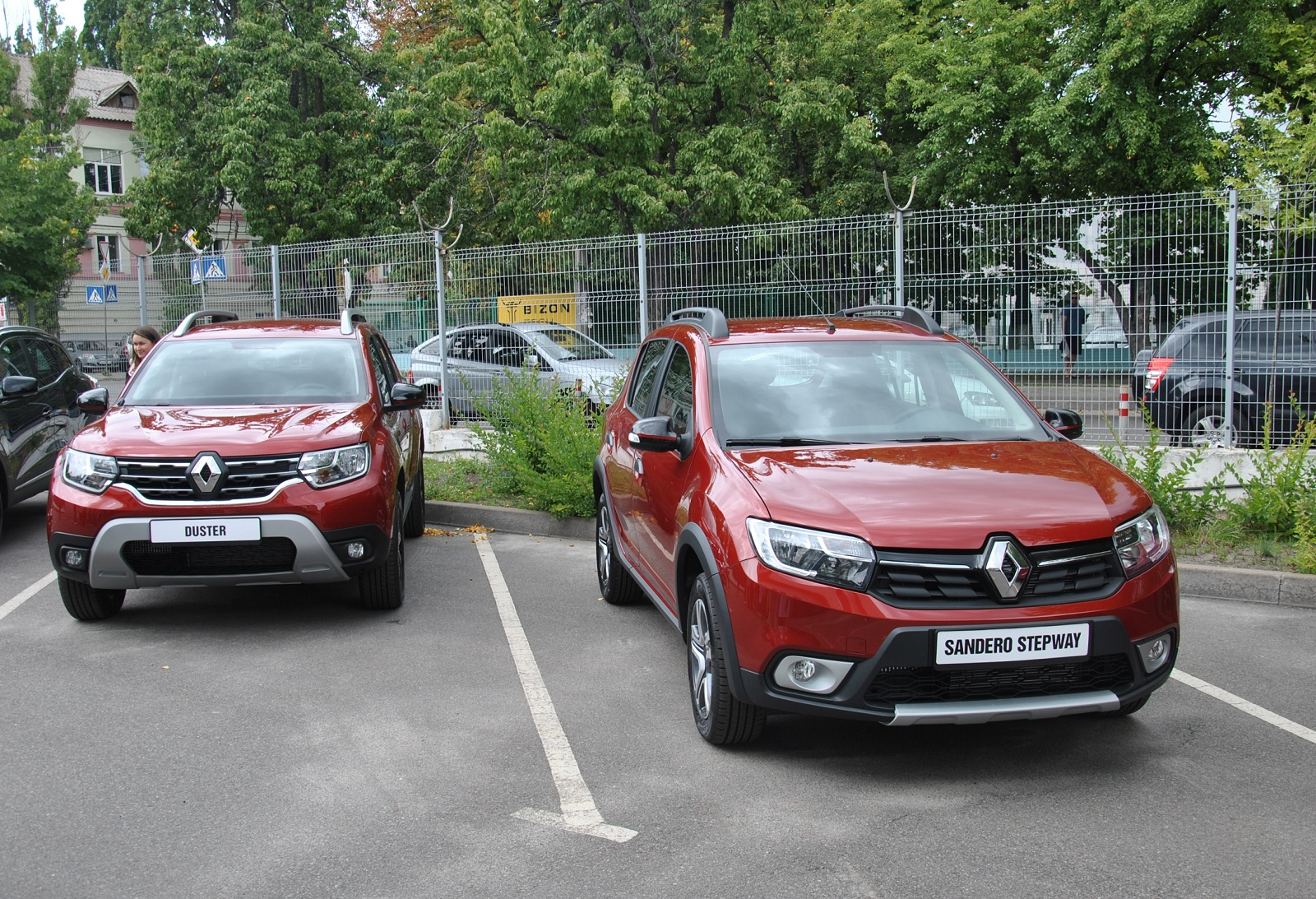 В Украине представили кроссоверы Renault лимитированной серии