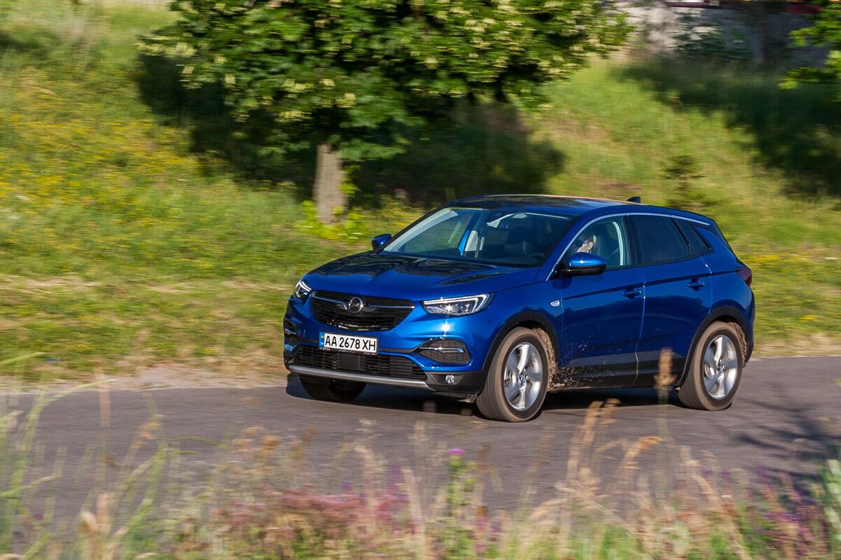 Opel Grandland X: французско-немецкий полукровка