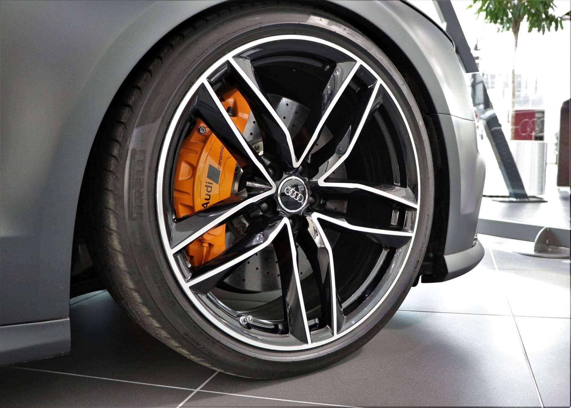 Рассекречен уникальный заряженный Audi RS8