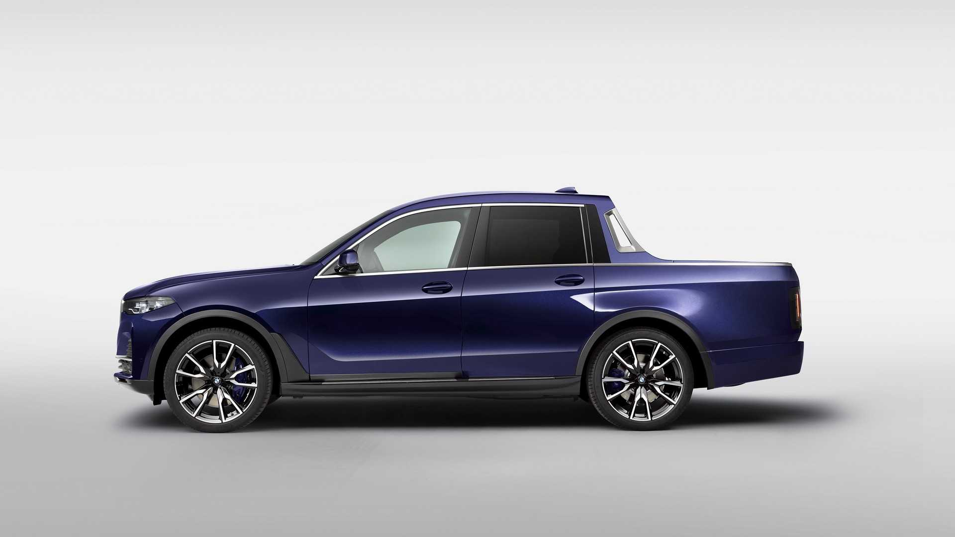 Первый пикап BMW рассекречен на официальных фото