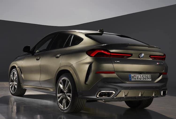 Первые фото нового BMW X6 2020