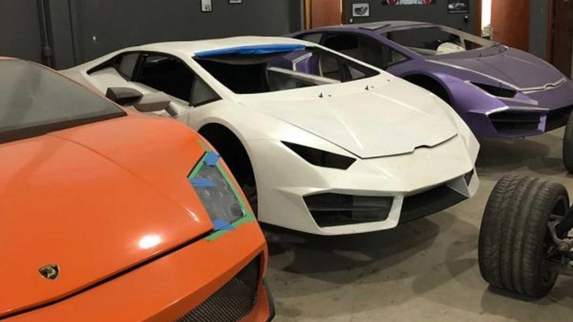 Полиция конфисковала поддельные суперкары Ferrari и Lamborghini