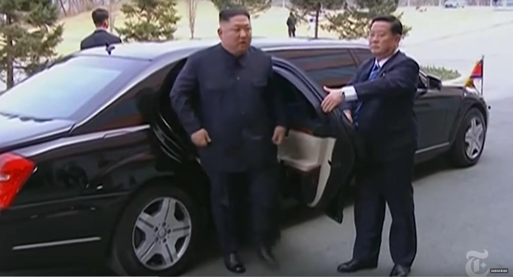 Раскрыта контрабандная схема доставки элитных авто для Ким Чен Ына