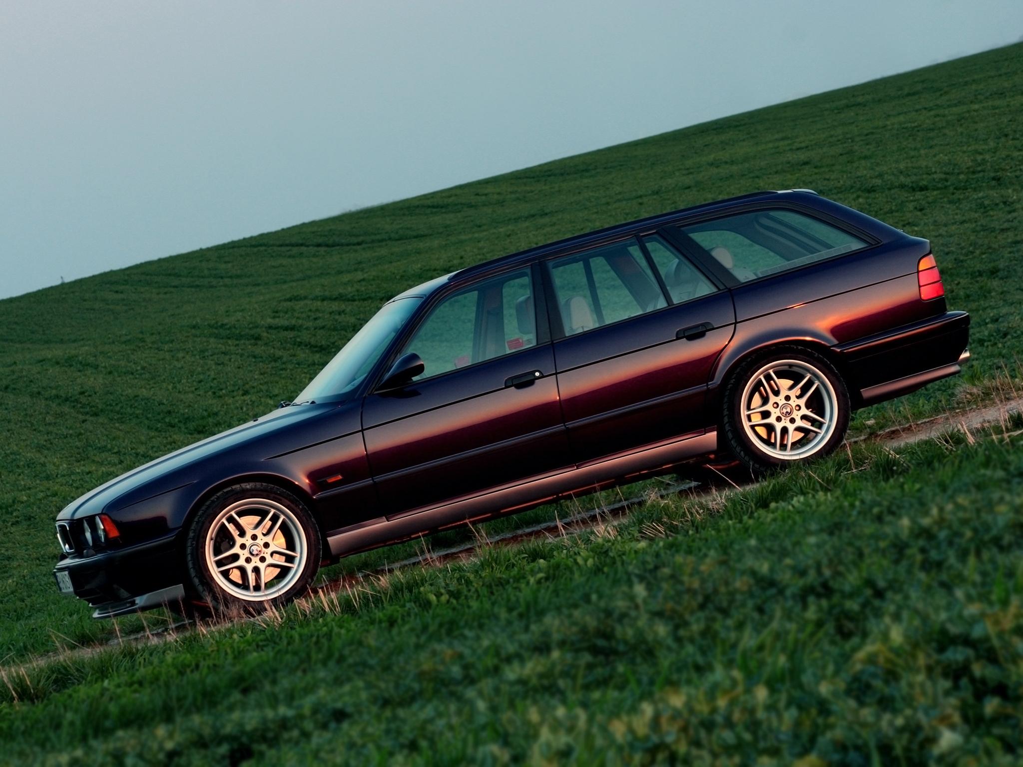 Редчайший универсал BMW M5 E34 с мотором McLaren, о котором никто не знал
