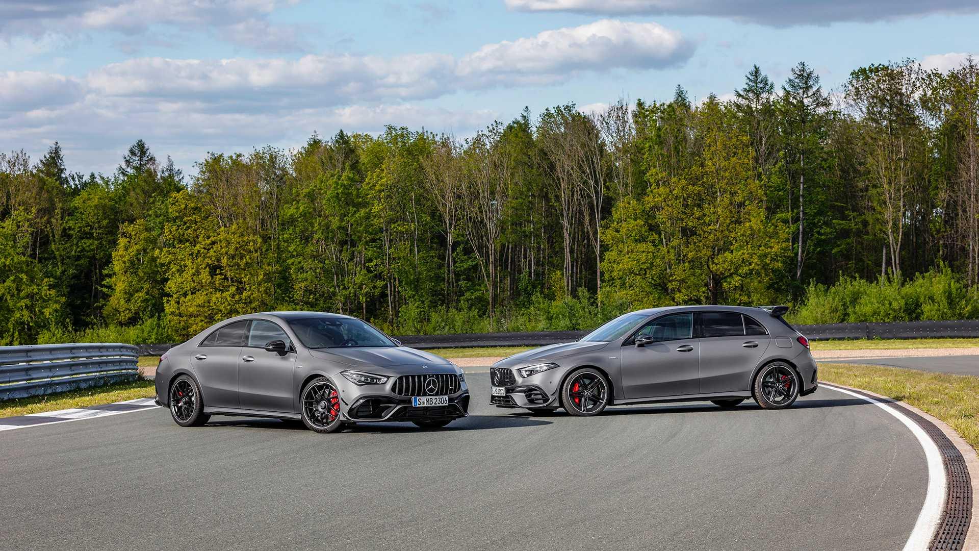 Mercedes представил самый быстрый в мире заряженный хетчбэк