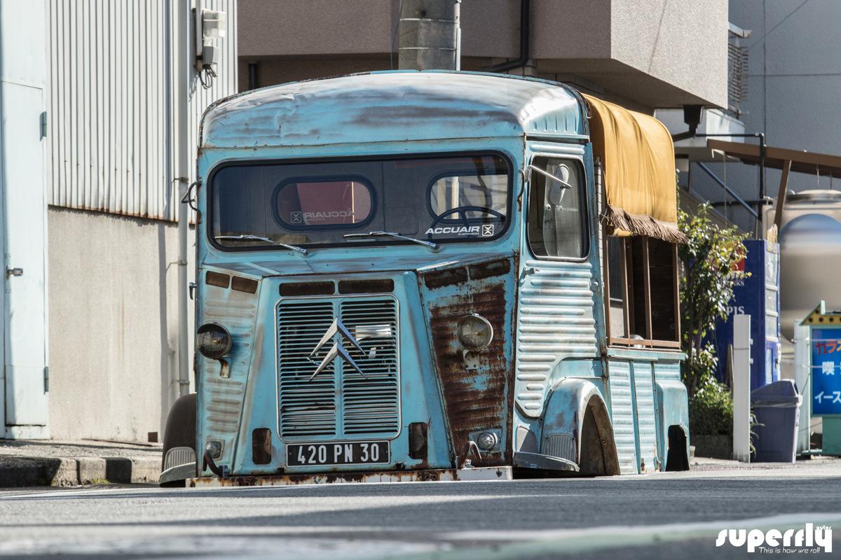 Шокирующий японский взгляд на старый фургон Citroen (фото)