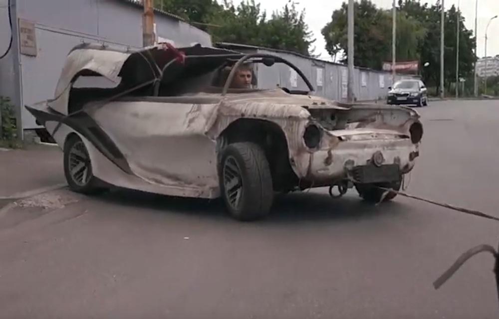 Невероятный гоночный болид Запорожец обнаружен в старом гараже