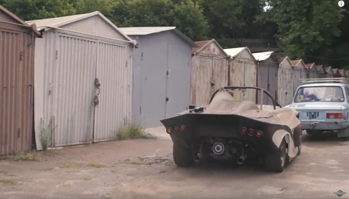Уникальный гоночный болид Запорожец обнаружен в старом гараже