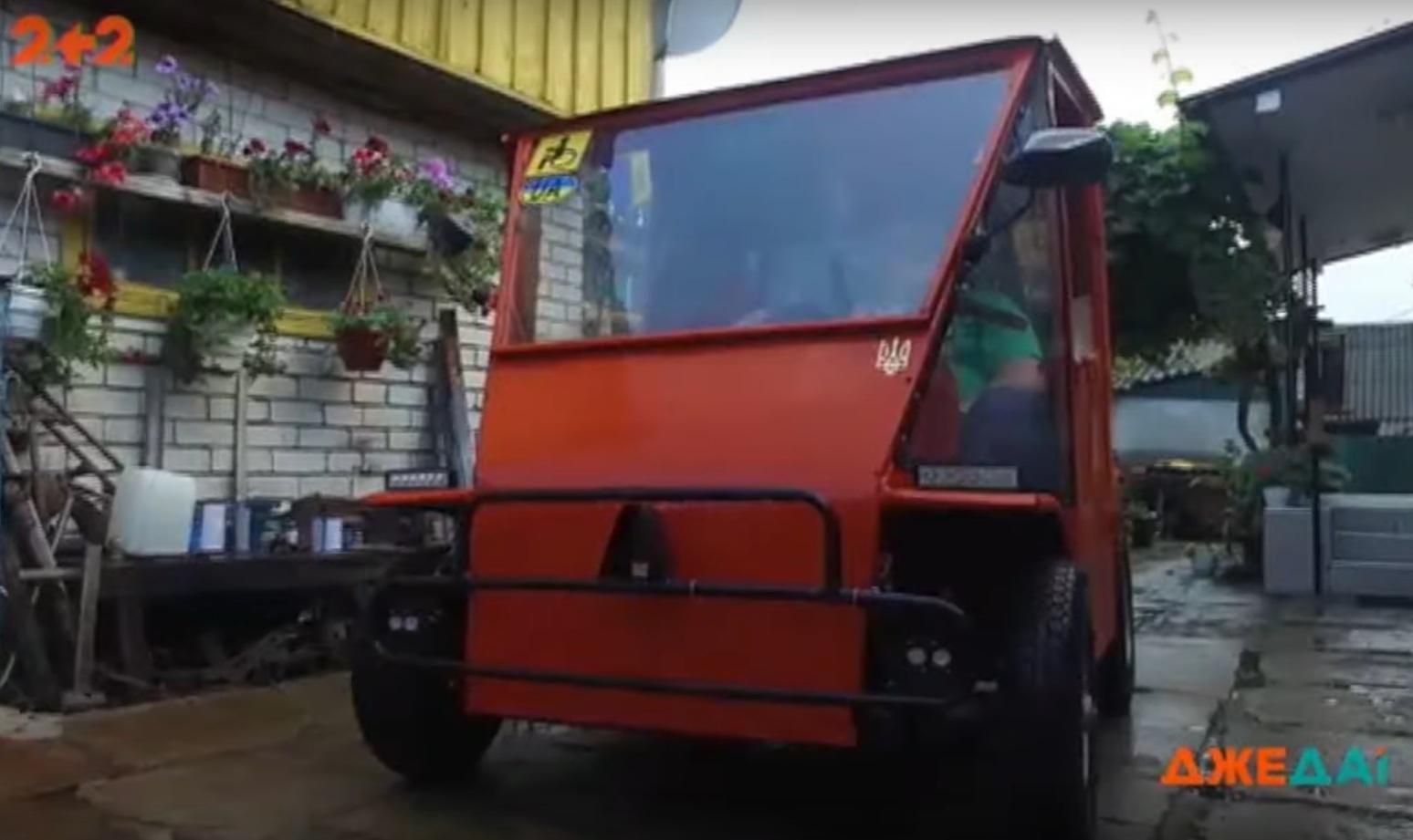 Украинец своими руками создал бюджетный электромобиль