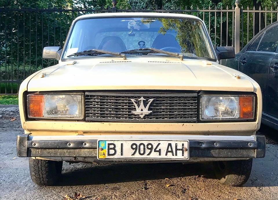 В Украине засветился единственный в мире суперкар Vazerati