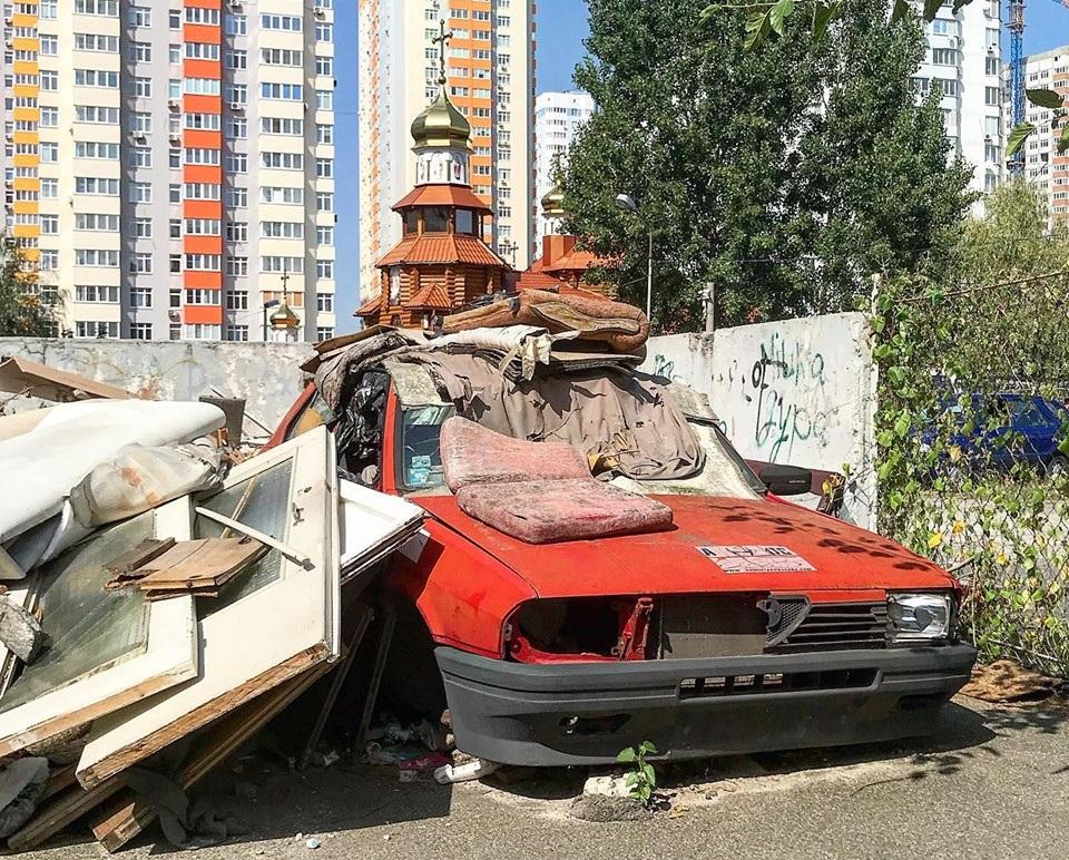 В Украине на свалке обнаружили редкую Alfa Romeo