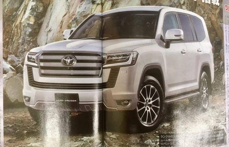 Первые изображения новой Toyota Land Cruiser 300