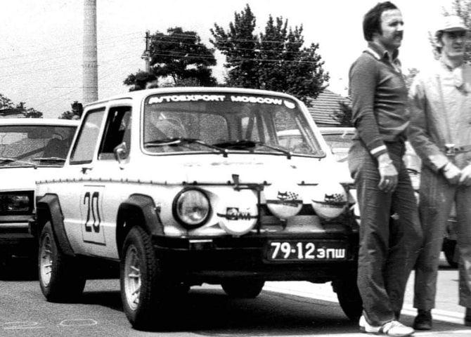 Уникальный титановый спорткар Запорожец, о котором никто не знал