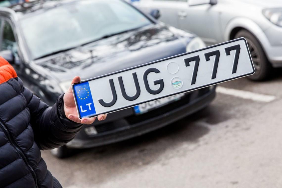 В Украине начали штрафовать владельцев авто на еврономерах