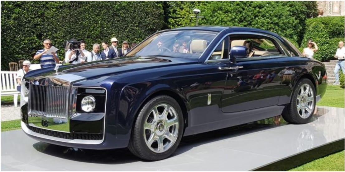 Самые дорогие автомобили современности