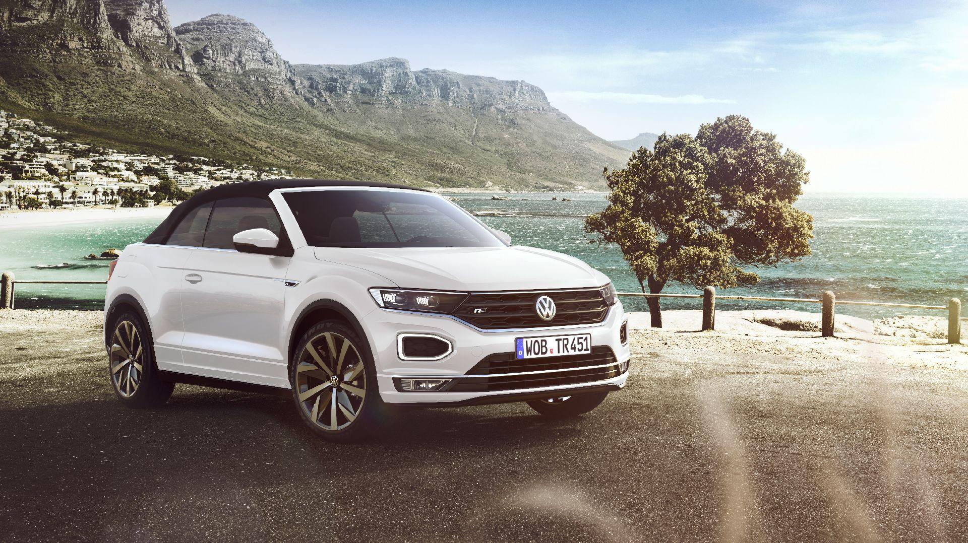 Новый кроссовер-кабриолет Volkswagen полностью рассекречен