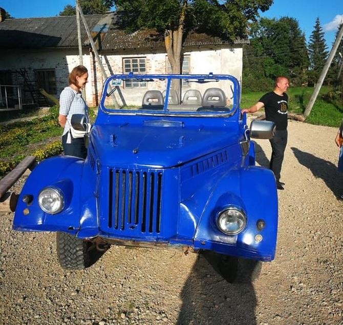 Народные умельцы скрестили ГАЗ-69 и Nissan Terrano II