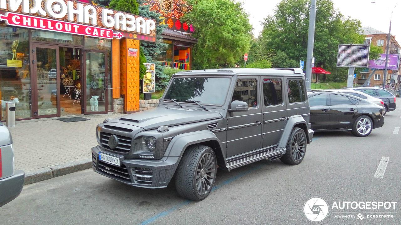 В Украине засветился сверхмощный Mercedes G-Class Mansory
