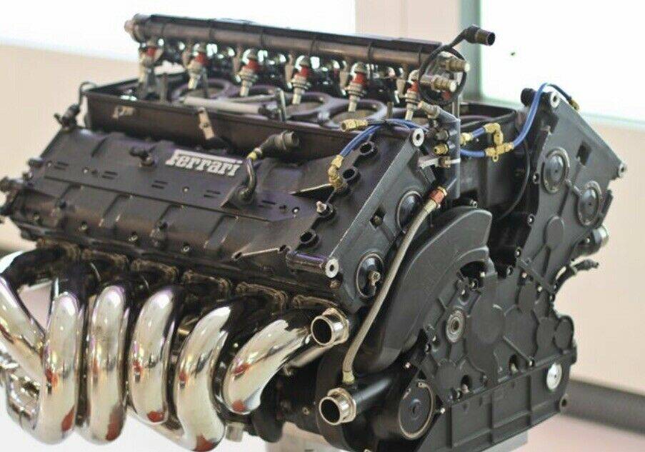 На продажу выставлен самый дорогой автомобильный двигатель в мире