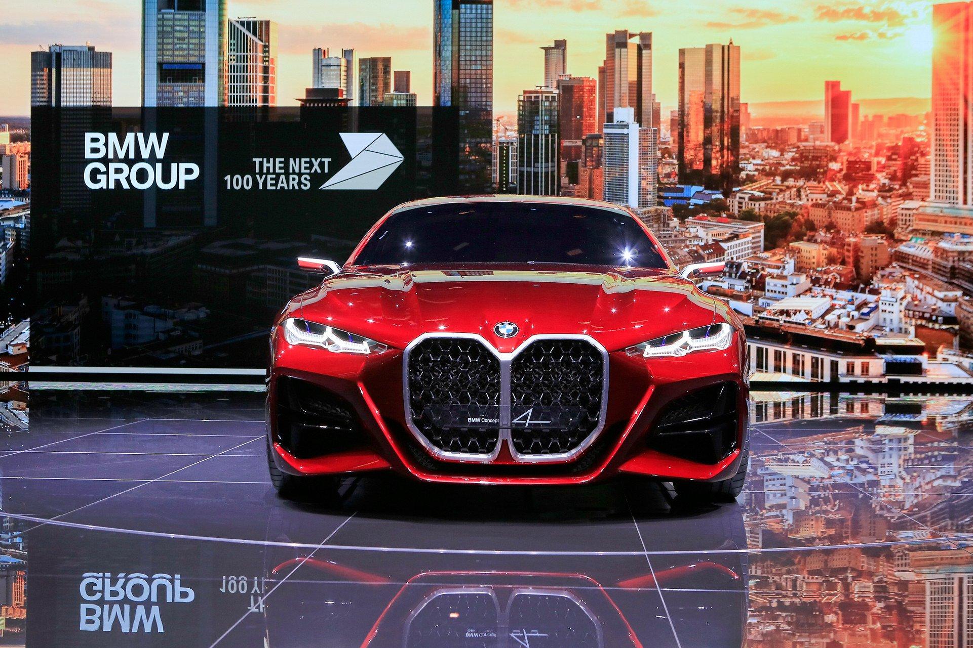 Первые фото нового купе BMW с гигантскими ноздрями | ТопЖыр