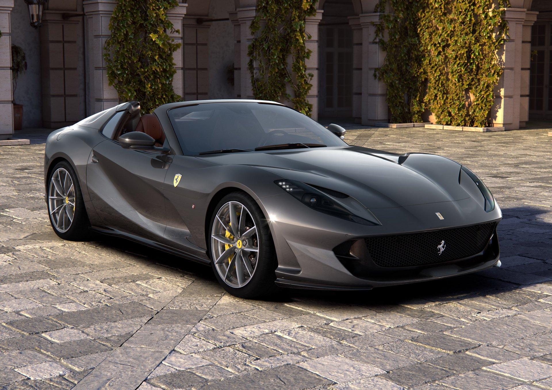 Фото и подробности самого быстрого кабриолета Ferrari в истории