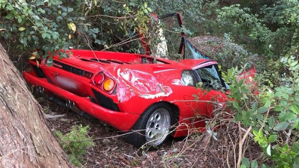 Культовый суперкар Lamborghini разбили сразу после покупки
