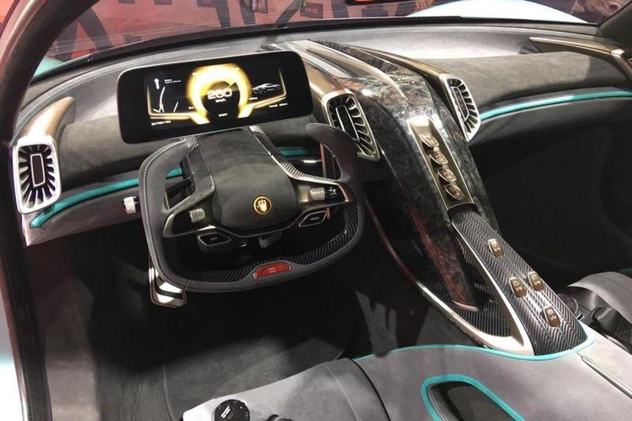 Новый китайский гиперкар бросил вызов Bugatti Chiron и Tesla Roadster