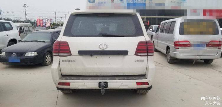 В Китае представлена дешевая копия Toyota Land Cruiser 200