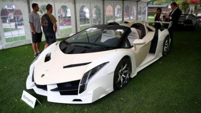 Конфискованную коллекцию суперкаров вице-президента продали с аукциона