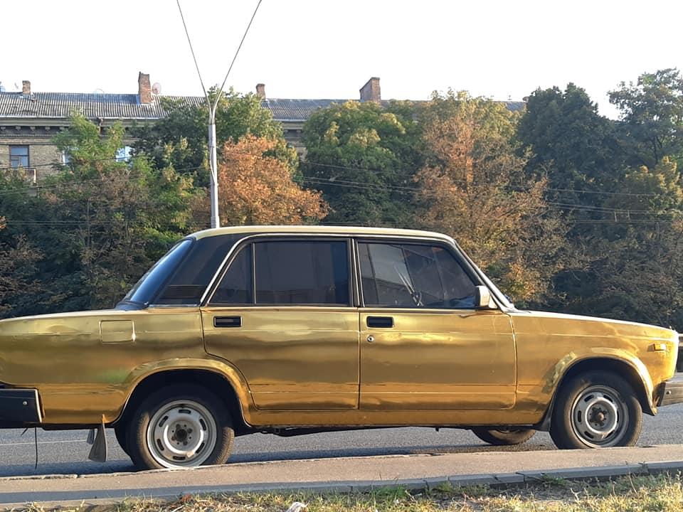 В Украине появилась золотая семерка ВАЗ