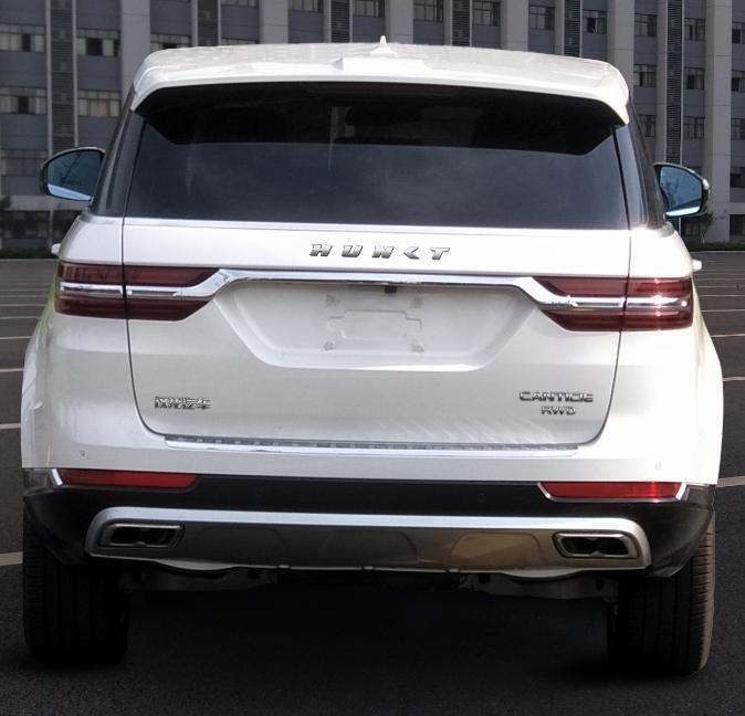 Первые фото нового китайского клона Range Rover