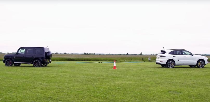 Гелендваген АМГ поборолся с конкурентами в перетягивании каната (видео)