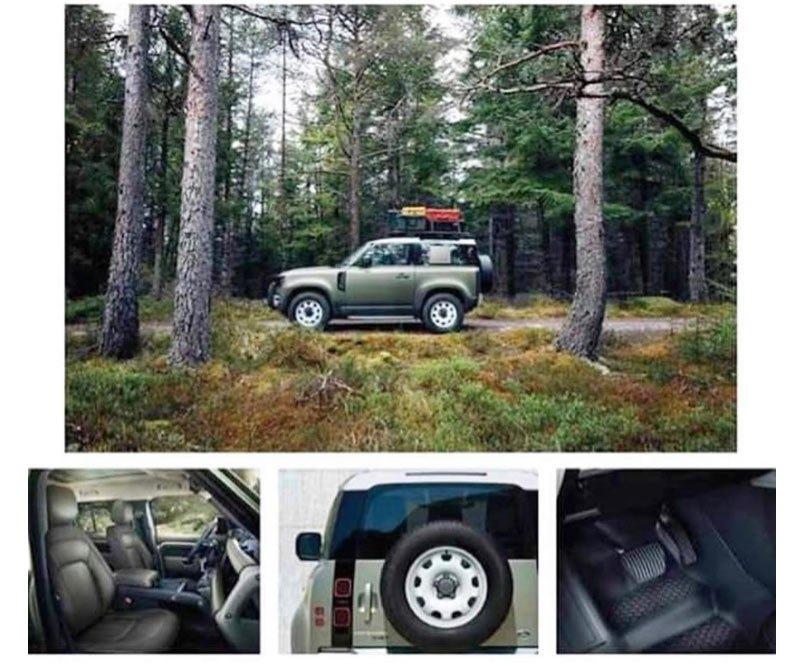 Новый Land Rover Defender 2020 рассекретили перед премьерой
