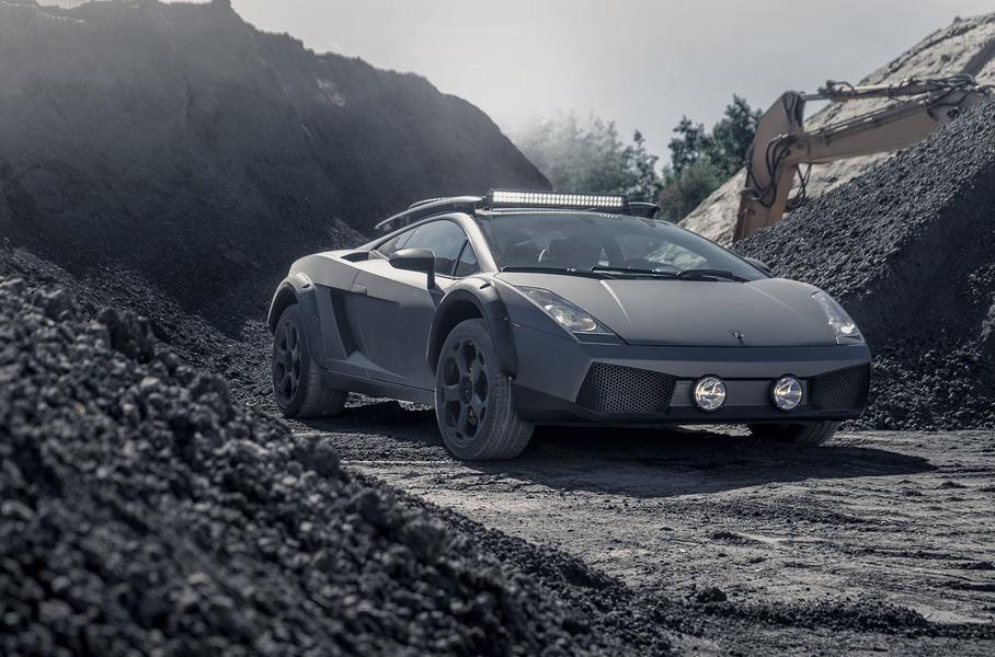 Суперкар Lamborghini превратили в необычный кроссовер