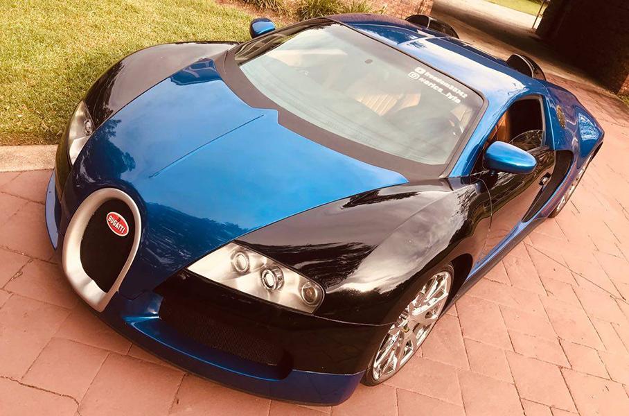 Копию Bugatti Veyron оценили как новый Porsche 911