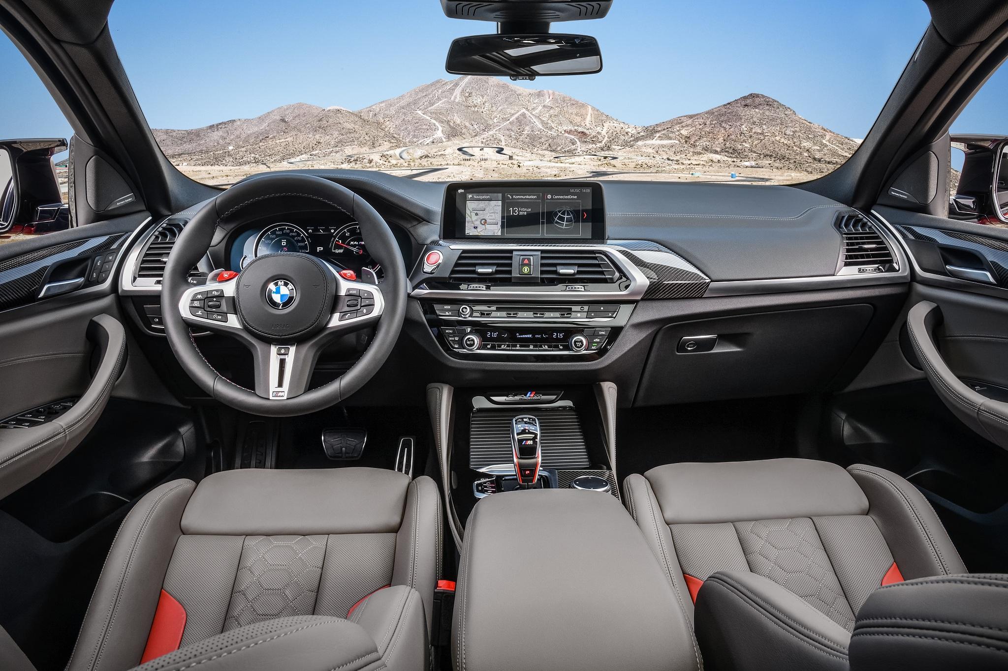 В Украине появился заряженный кроссовер BMW X4 M