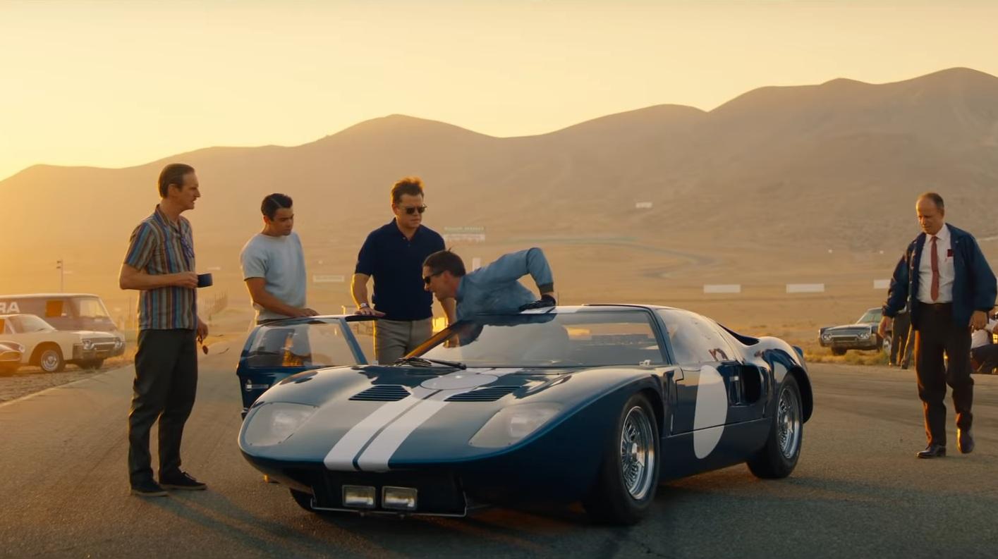 Форд против Феррари: новый трейлер самого ожидаемого фильма года