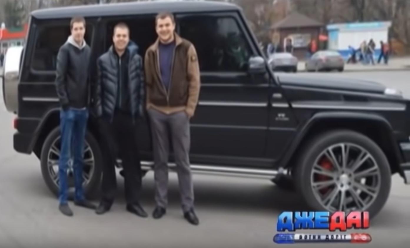 В Украине сняли редчайший пикап Mercedes Brabus