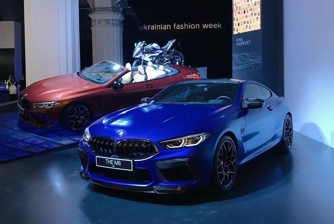В Украину привезли новейшую BMW M8 2020 и BMW 8 Gran Coupe