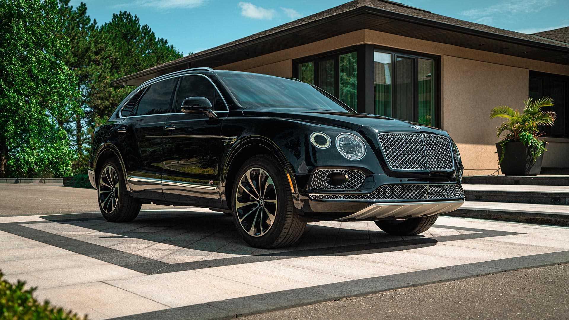 Bentley Bentayga превратили в роскошный броневик для олигархов