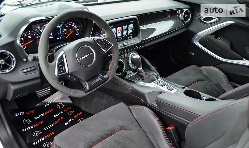 В Украине появился самый крутой и самый быстрый Chevrolet Camaro