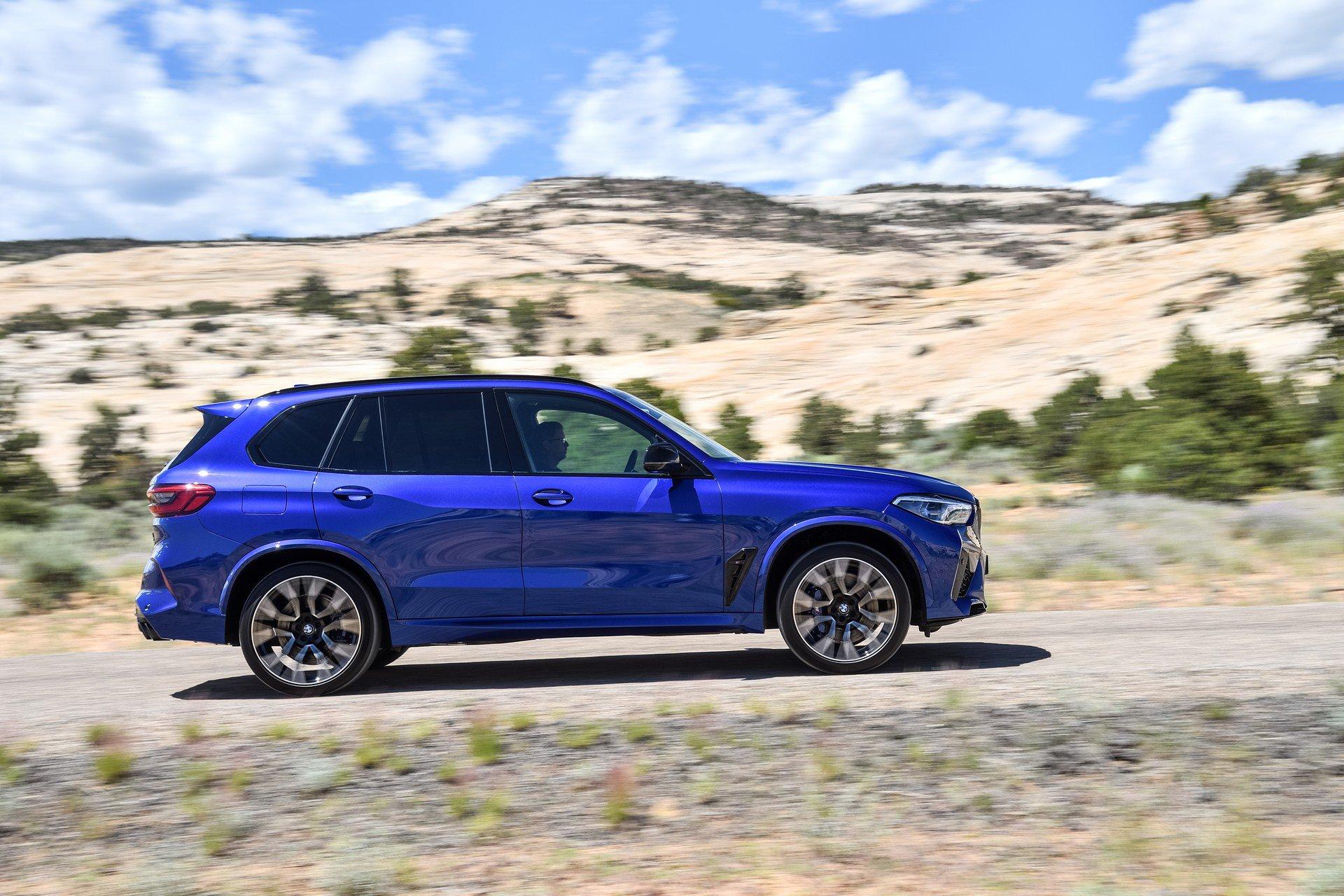 Новые BMW X5 M и X6 M полностью рассекречены