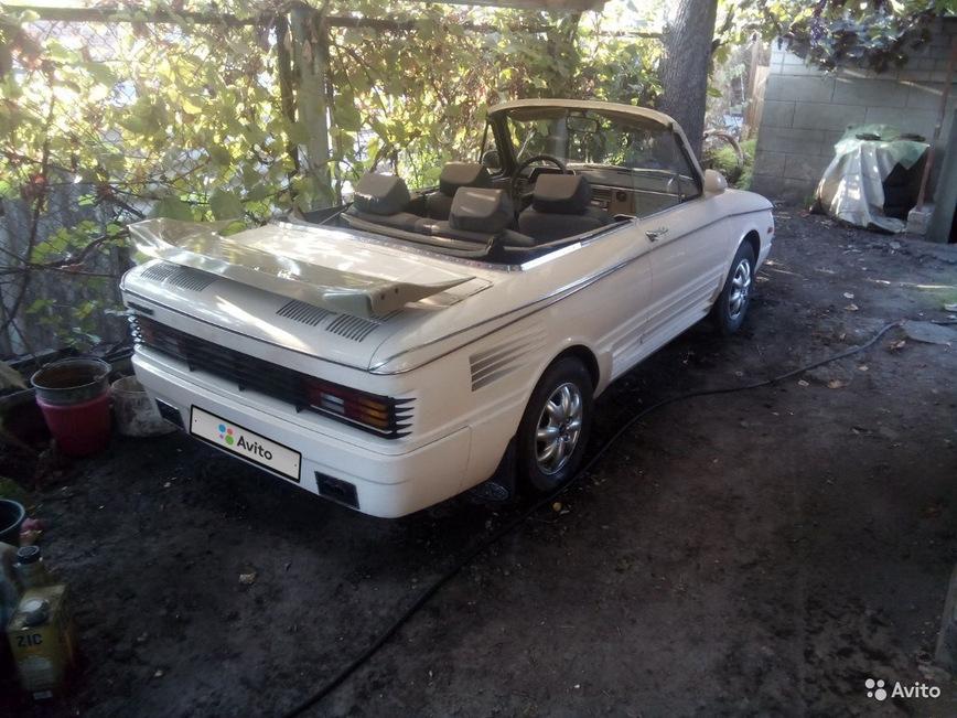 Старый Запорожец превратили в стильный кабриолет