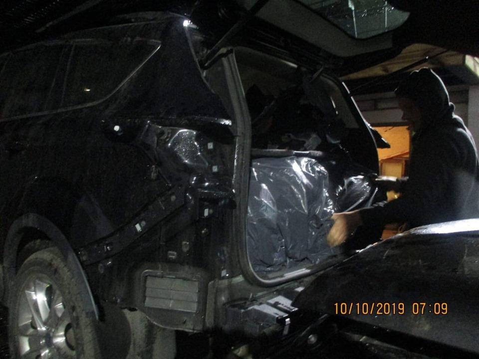 Подержанные авто из США использовали для провоза контрабанды