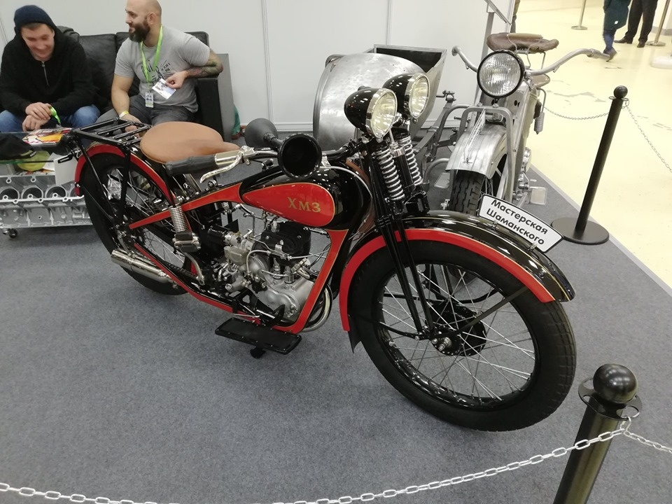 Каким был первый украинский мотоцикл