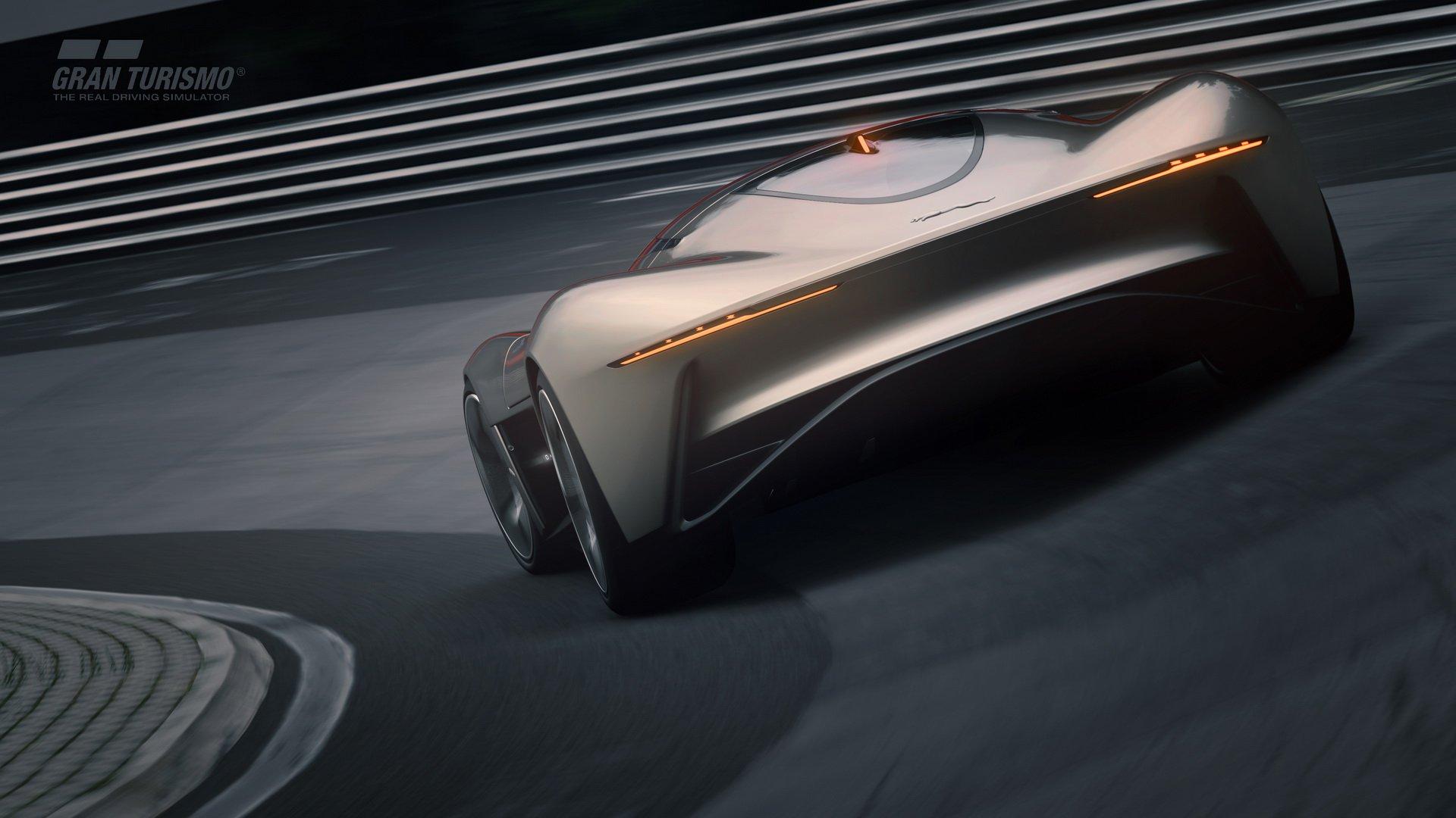 Первые изображения фантастического виртуального гиперкара Jaguar